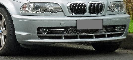 Paragolpes Bmw Serie 3 E46 Coupe Delantero 2 Puertas Ano 98 01 Ref